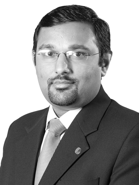 Ranjit Kutty,Executive Director, Business Solutions & Sales, Corporate Solutions